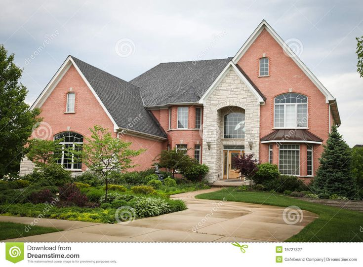 Red Brick House Royalty Free Stock Photography - Image: 19727327