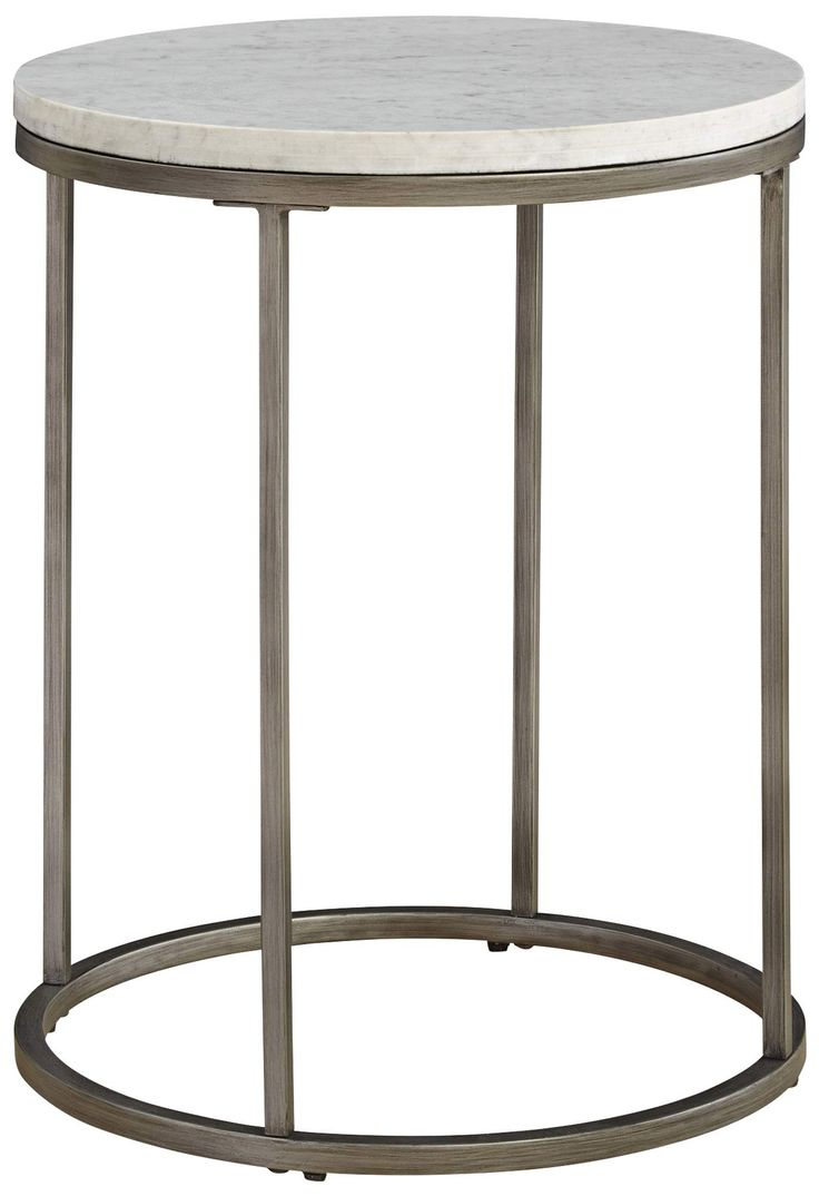 Alana Acacia Marble Top Round End Table by Casana - Don't pay anything for  shipping and get the guaranteed best price, now from Coleman Furniture.