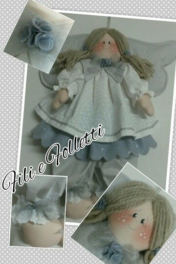 #filiefolletti #fattoamano #handmade #angel