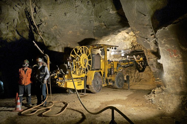 underground mining Atlas Copco