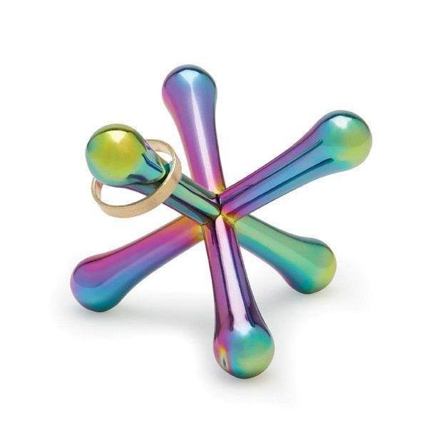 Umbra Jacks Rainbow Ring Holder - colourful jewellery tidy