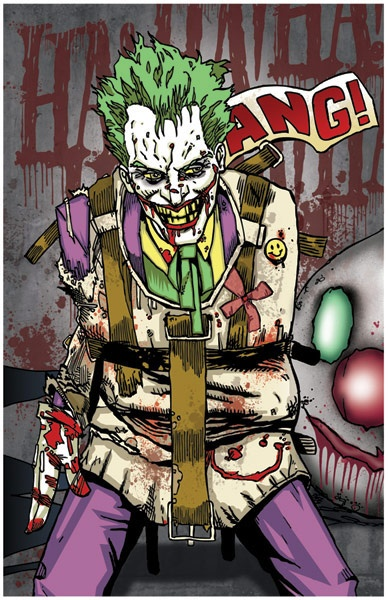 Straight-Jacket Joker | Joker & Harley | Pinterest | Mothers and ...