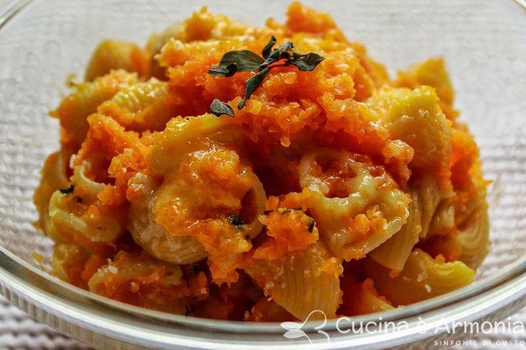 #Lumache rigate alle #carote e #maggiorana http://www.cucinaearmonia.com/2014/08/lumache-rigate-alle-carote-e-maggiorana.html #food #foodblogger #cucinaearmonia #pasta