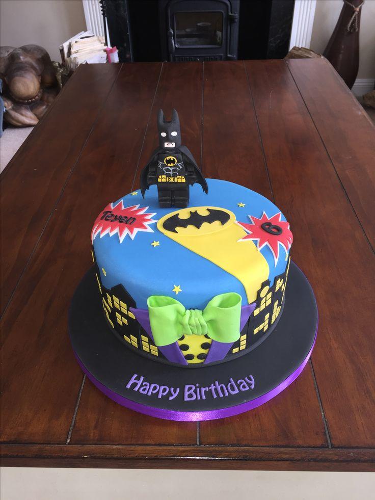 Batman Lego Movie Cake