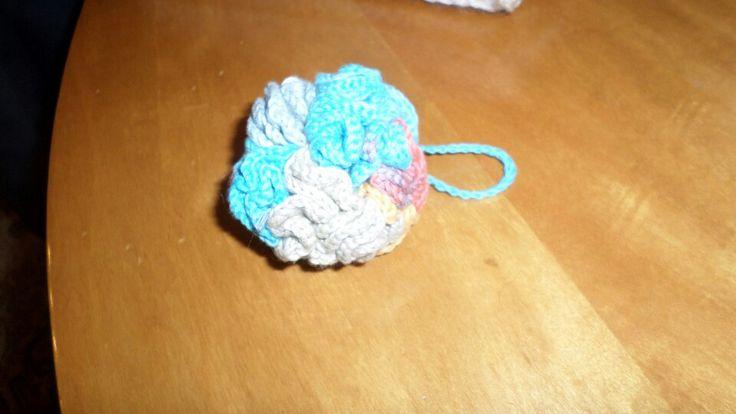 Cotton sponge for facial wash