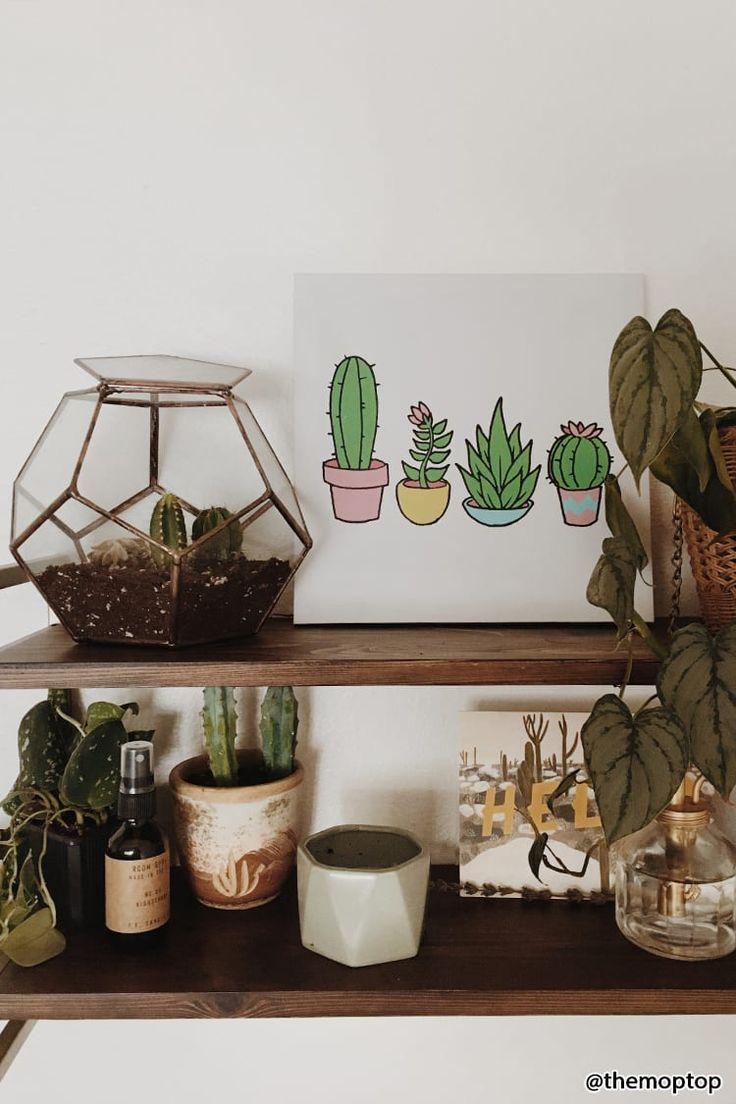 Cacti & Succulent Wall Art