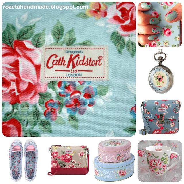Rozeta handmade: Cath Kidston i domowa sielanka:-) material, pattern, rose Cath Kidston, rose, pattern rose