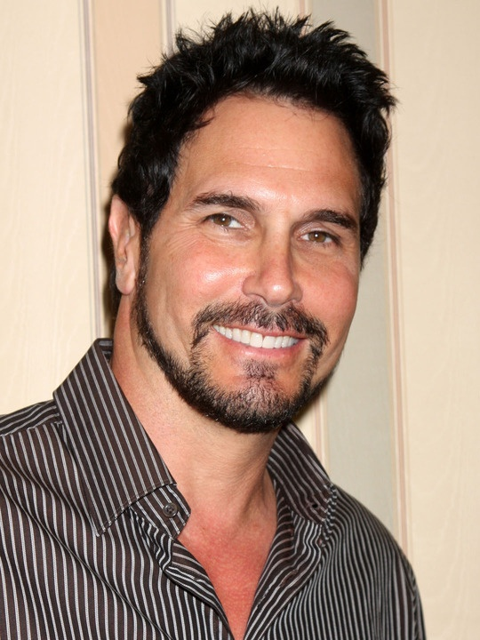 Don Diamont, on the Bold and Beautiful!  This sexy hunk has got it all and I love watching him!  Not to mention that he really is a great actor too!  He's my favorite soap opera actor!