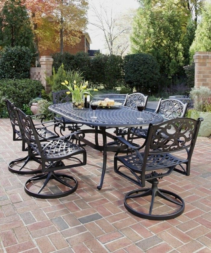 A Beautiful Makeovers Ideas And Cast Iron Patio Furniture Patio Amp Outdoor  Cast Iron Patio With The Awesome Luxury Home Interior Remodel With  Decoration ...