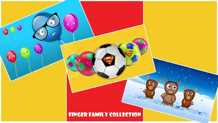 Finger Family Songs Collection - Mega Finger Family Collection - 3D Fing...