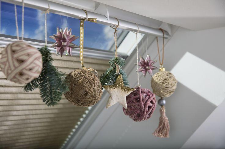 Flotte julekuler, en ballong, lim,vann og oppheng #decoration