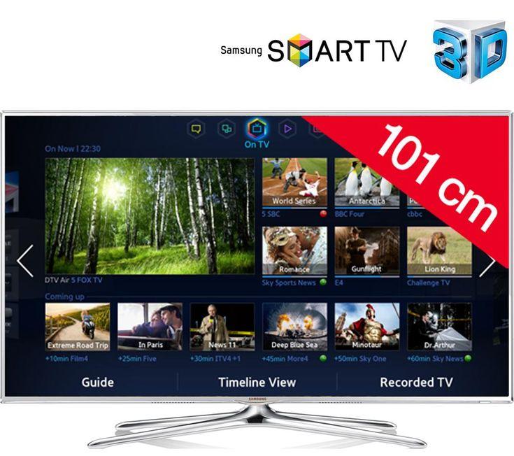 Tv Led pas cher Carrefour promo tv Led, achat SAMSUNG UE40F6510 - Téléviseur LED 3D Smart TV prix promo Carrefour 589.00 € TTC