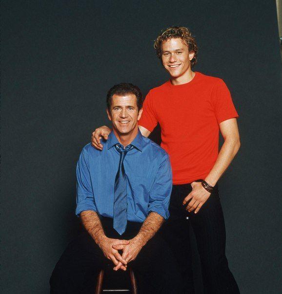 Мел Гибсон и Хит Леджер, 2000