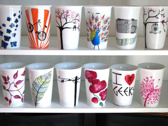 Personnalisé voyage Coffee Mug vous choisissez par PrettyMyDrink