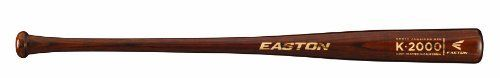 Easton K2000 North American Ash Baseball Bat (34-Inch) by Easton. $27.23. After successfully establishing themselves as a heavyweight in the metal bat market, Easton now turns its focus to making wood bats that live up to the quality its loyal fans have come to expect. The Easton K2000 ash wood adult baseball bat will definitely live up to your expectations. Made from North American White Ash, this bat features Easton's lowest price point and is one of the best values you'll ...