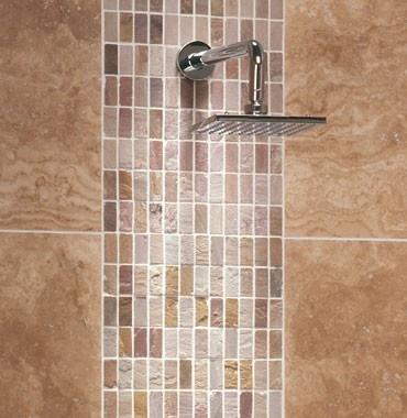 28 best images about shower tile ideas on pinterest contemporary bathrooms shower tiles and Normal bathroom tiles design