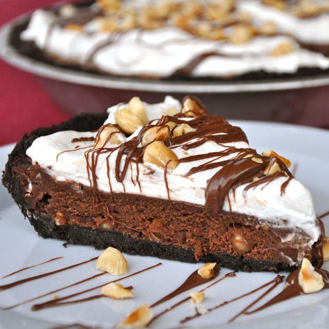 Happy 5th World Nutella Day: Nutella Cream Pie | Making Life Delicious ™