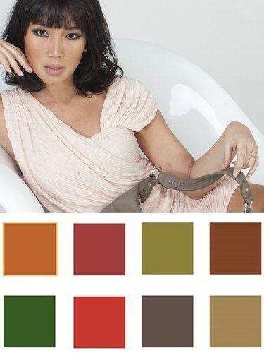 cores que combinam com orientais