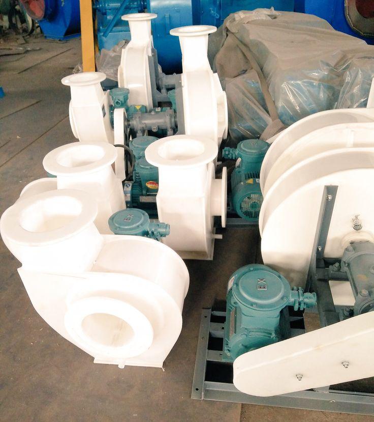 Plastic centrifugal fan