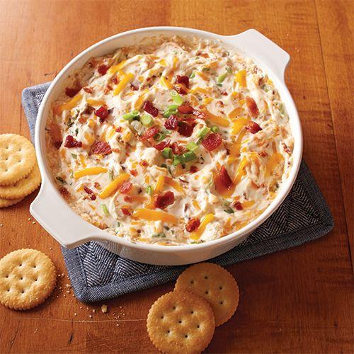 Warm & Cheesy Bacon Dip