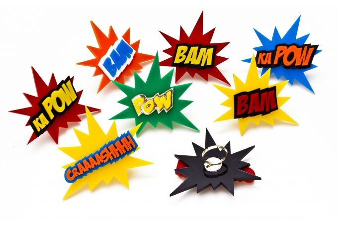 Comic sound effect rings by Dragonfly Dreams
