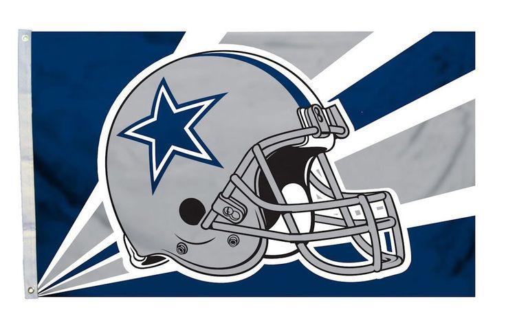 Dallas Cowboys Flag Flag 3x5 Helmet