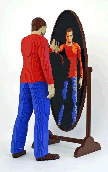 Nathan Sawaya lego artist