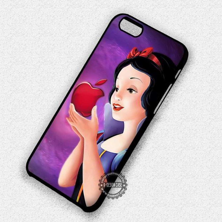 Snow White Apple Cute Disney - iPhone 7 6 5 SE Cases & Covers #cartoon #disney #snowwhite #iphonecase  #iphonecase #phonecase #phonecover #iphone7case #iphone7 #iphone6case #iphone6 #iphone5 #iphone5case #iphone4 #iphone4case