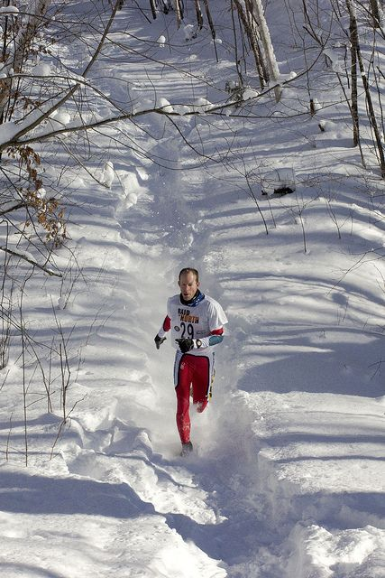 Mad About Winter - Double race report from the Mad Trapper snowshoe race series.