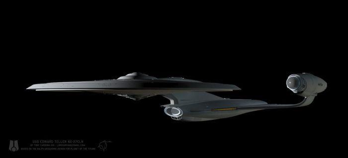 USS Edward Teller WIP 010 by LordSarvain