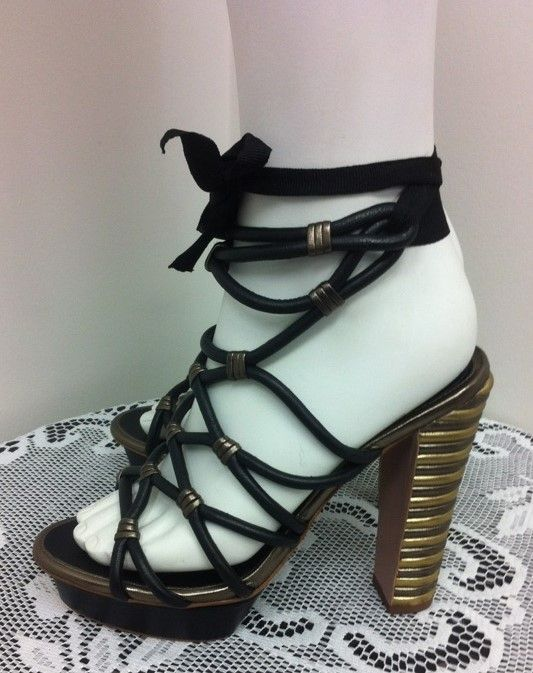brand new Elitahari lace-up sandals, size 7.5, at a reduced Sisters price of $14.99