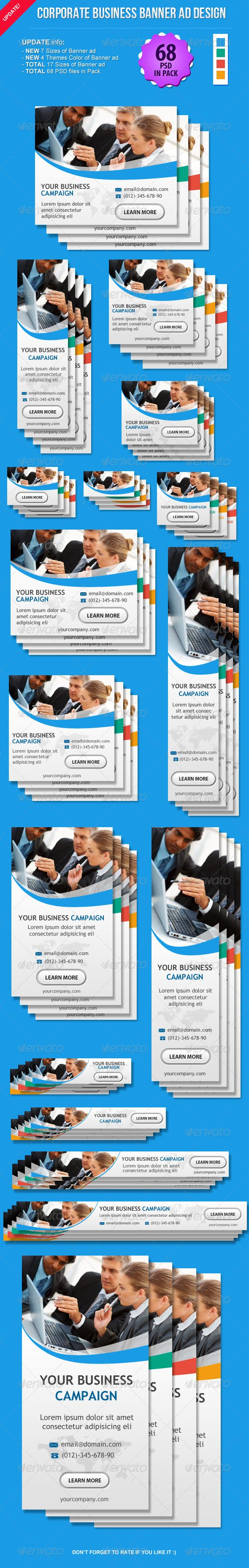 Corporate Business Banner Ad Design Template PSD | Buy and Download: http://graphicriver.net/item/corporate-business-banner-ad-design/5104569?WT.ac=category_thumb&WT.z_author=booharry&ref=ksioks