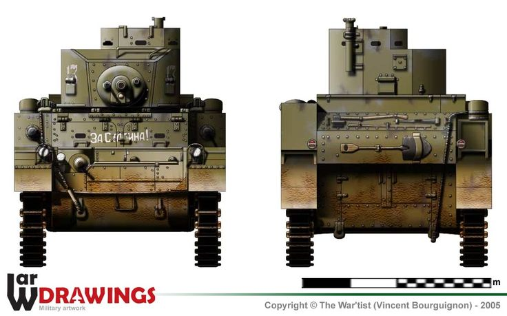 US M3 Stuart (early turret) Light Tank