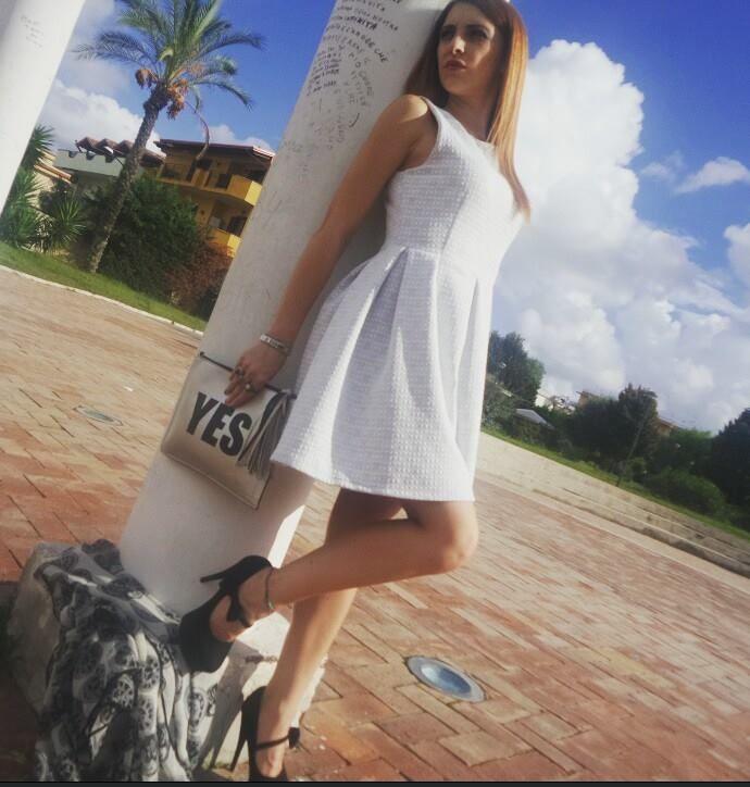 #Moda#fashion#style#donna#abbigliamento#girls#italia#dreams#boutique#social#outfit#temptations#beautiful#arrogance#withe