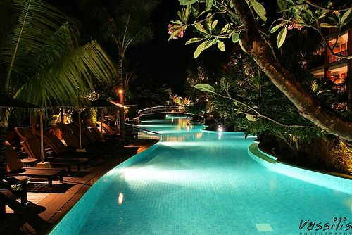 take a dip in one the beautiful swimming pools in Bali, Indonesia  Bali by Showup & Vassilis Photography Switzerland, via Flickr