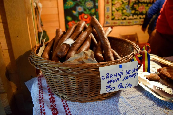 Traditional Romanian sausages