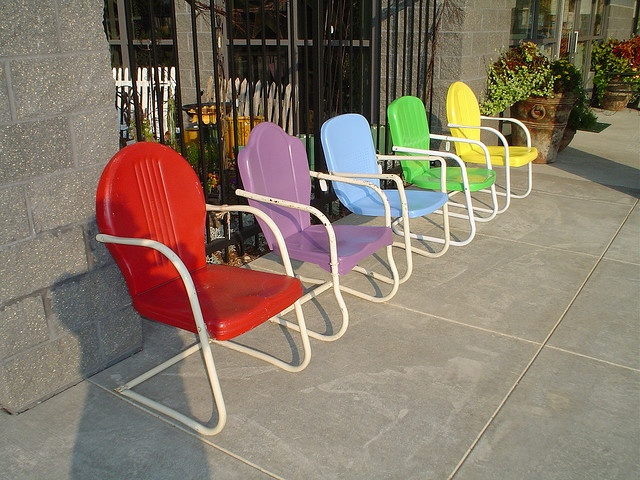 1000 Images About Vintage Metal Lawn Chairs On Pinterest Metal Lawn Chairs
