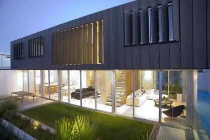contemporary zinc clad house - Google Search