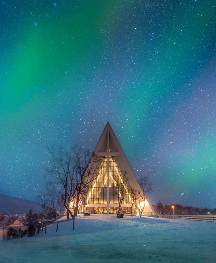 Catedral del Artico. Noruega