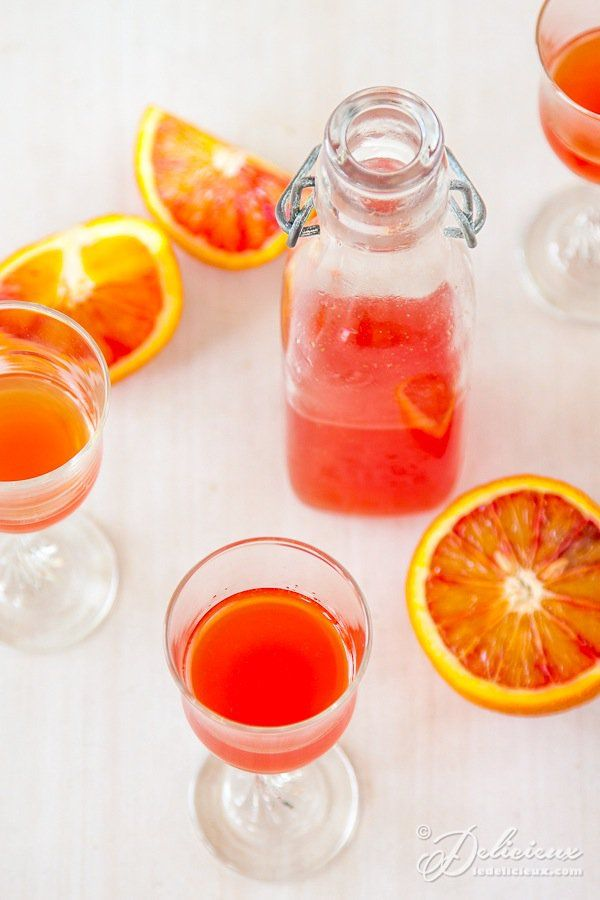 Blood Orangecello liqueur recipe | deliciouseveryday.com