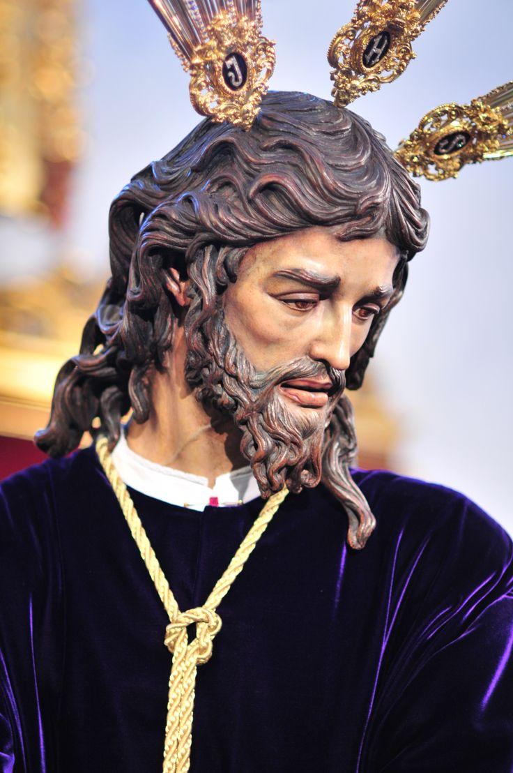 Jesús del soberano Poder ante Caifás (San Gonzalo), Obra de Ortega Bru.