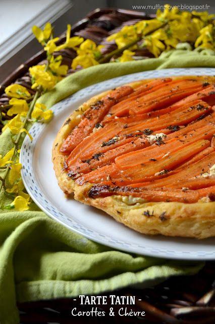Recette facile tatin de carottes et chèvre - muffinzlover.blogspot.fr