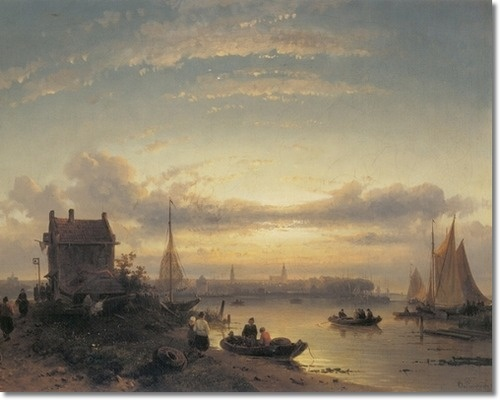 Charles Leickert, Dutch painter