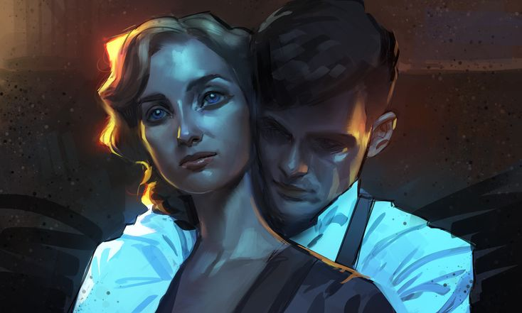 ArtStation - Grace and Tommy Shelby, Ahmed Aldoori