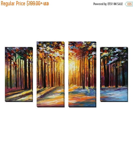 "ON SALE - 20% OFF Leonid Afremov ""Sun of January"" Giclee Print Canvas Wall Art Set door pictureperfect20 op Etsy https://www.etsy.com/nl/listing/476692705/on-sale-20-off-leonid-afremov-sun-of"