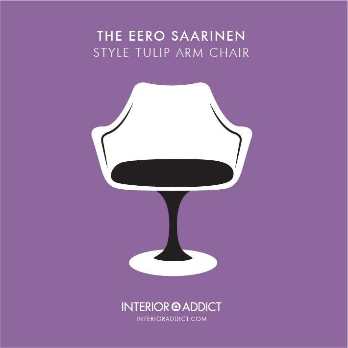 Saarinen Style Tulip Chair #Tulip#TulipChair #Saarinen