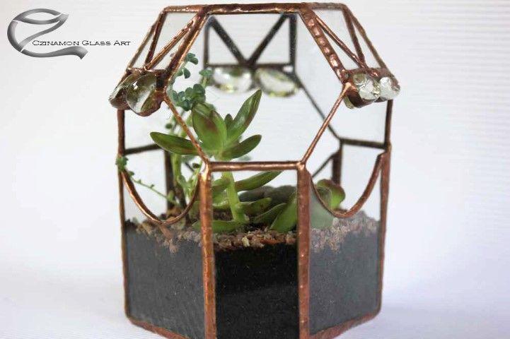 Válasszon egy növényeket tartó ékszerdobozt, kedvesének! http://www.uvegmuvesz.hu/olomuveg/florarium/