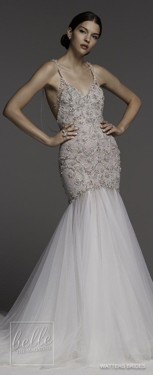 Wedding dresses by watters brides spring mermaid wedding