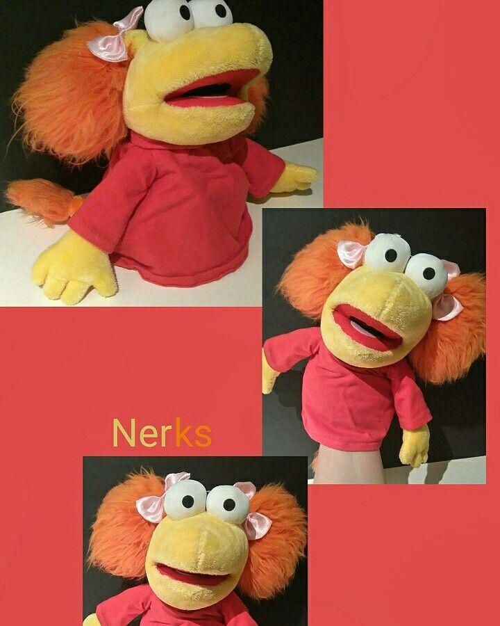 "Red Fraggle 11"" plush puppet 2009 Manhattan Toys. $10.00 CDN +ship."