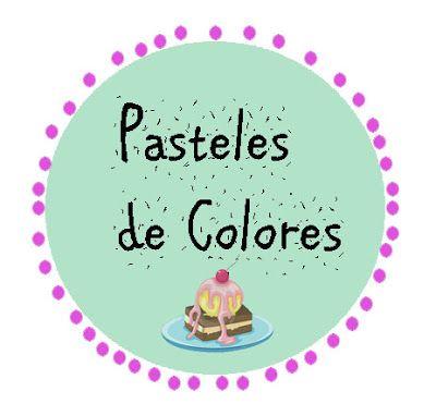 Pasteles de colores